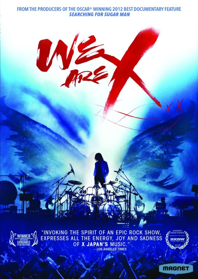 We Are X Documentary Blu-ray DVD release date 25 April 2017